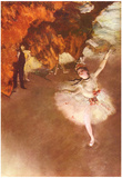 Edgar Germain Hilaire Degas (The Prima Ballerina) Art Poster Print Prints