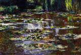 Claude Monet Water Lilies Water Landscape 3 Art Print Poster Masterprint