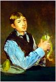 Edouard Manet Portait of Leon Leenhoff Art Print Poster Photo