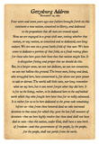 Gettysburg Address Full Text Poster Print Posters