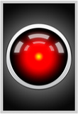 Hal 9000 Camera Eye Screen Movie Poster Posters