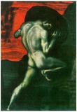 Franz von Stuck Sisyphus Art Print Poster Posters