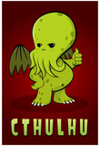 Cthulhu Creature Print Poster Prints