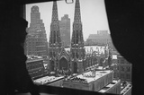 New York City St Patrick's Cathedral Window Archival Photo Poster Print Masterprint