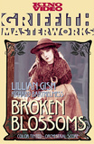 Broken Blossoms or The Yellow Man and the Girl Movie Lillian Gish Poster Print Masterprint