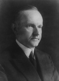 Calvin Coolidge (Portrait) Art Poster Print Masterprint