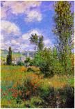 Claude Monet Sentier ile Saint-Martin 1880 Art Print Poster Posters