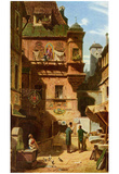 Carl Spitzweg (Art and Science) Art Poster Print Posters