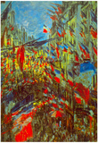 Claude Monet Festivities Art Print Poster Photo