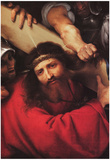 Christ Carrying the Cross by Lotto Art Print Poster Posters