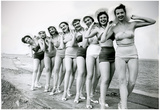 Bathing Beauties Archival Photo Poster Print Photo