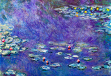 Claude Monet Water Lily Pond 3 Art Print Poster Masterprint