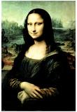 Leonardo da Vinci Mona Lisa Art Print Poster Prints