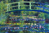Claude Monet Water Lily Pond 2 Art Print Poster Masterprint