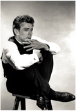 James Dean with Cigarette Archival Photo Movie Poster Print Posters