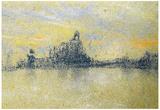 James Whistler Sunset Venice Art Print Poster Prints