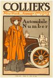 Colliers Automobile 1903 Vintage Ad Poster Print Prints