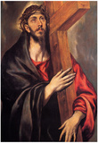 El Greco Christ Carrying the Cross 4 Art Print Poster Photo