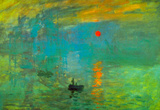 Claude Monet Impression Sunrise Art Print Poster Masterprint