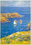 Henri Moret Calm Seas Art Print Poster Posters