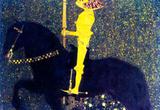 Gustav Klimt The Life of a Struggle (The Golden Knights) Art Print Poster Masterprint
