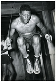 Floyd Patterson Training Jumping Rope Archival Photo Sports Poster Print Posters