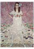 Gustav Klimt (Portrait of Mada Primavesi) Art Poster Print Prints