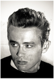 James Dean Head Shot Archival Photo Movie Poster Print Posters