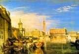 Joseph Mallord Turner Bridge of Sigh's Venice Art Print Poster Masterprint