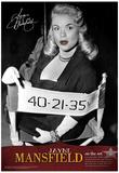 Jayne Mansfield On the Movie Set Archival Photo Poster Print Photo