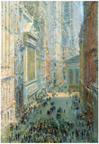 Childe Hassam Lower Manhattan Art Print Poster Prints