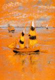 James Whistler Fishing Boats Art Print Poster Masterprint