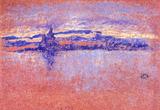James Whistler Salute Sundown Art Print Poster Masterprint