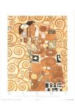 Gustav Klimt Fulfilment L' Accomplissement Art Print Poster Poster