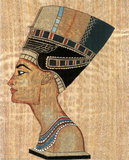 Egyptian Queen Art Print POSTER Pharaoh Ancient Masterprint