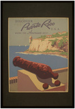 Discover Puerto Rico (Where the Americas Meet) Art Poster Print Photo