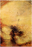 Joseph Mallord William Turner (Light and Color: The morning after the deluge: Moses wrote the Book Print