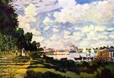 Claude Monet Seine Basin near Argenteuil Art Print Poster Masterprint