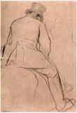 Edgar Degas Rider Art Print Poster Prints