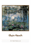 Claude Monet (Nympheas) Art Print Poster Posters