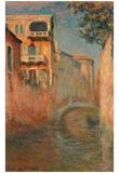 Claude Monet (Le Rio de la Salute) Art Poster Print Prints