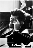 John F Kennedy Cuban Missile Crisis Archival Photo Poster Print Print