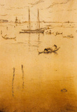 James Whistler The Little Lagoon Art Print Poster Masterprint