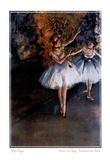 Edgar Degas Dancers On Stage Danseuses Sur Scene Print Poster Kunstdrucke