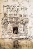 James Whistler The Balcony Art Print Poster Masterprint