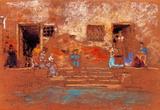 James Whistler The Steps Art Print Poster Masterprint