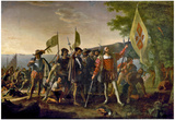 The Landing of Columbus Historical Art Print Poster Prints