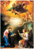 Raphael Annunciation Art Print Poster Posters