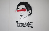 Paris France Graffiti Photo 2 Art Print Poster Masterprint