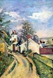 Paul Cezanne House of Dr Gachet Art Print Poster Masterprint
